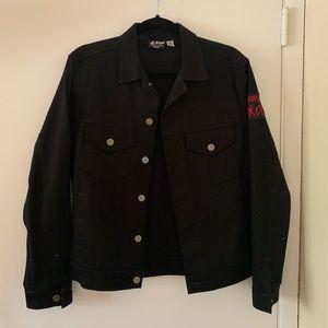 G-Eazy Jackets & Coats - G-Eazy Small Black Denim Jacket
